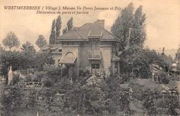 Westmeerbeek : Maison Ve Frans Janssens Et Fils - Décoration De Parcs Et Jardins - Hulshout