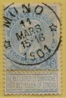 +MW-4091     *  MUNO   *   OCB 60   Sterstempel     COBA   +8 - 1893-1900 Thin Beard