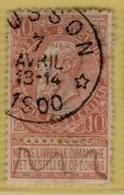 +MW-4093     *  MUSSON     *   OCB 57   Sterstempel     COBA   +15   Kleine Verdunning - 1893-1900 Thin Beard