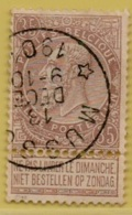 +MW-4096     *  MUSSON     *   OCB 61   Sterstempel     COBA   +8 - 1893-1900 Thin Beard