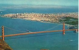 Cpsm San Fransisco Golden Gate Bridge,Card By H S Crocker. - San Francisco