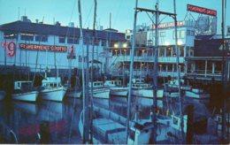 Cpsm San Fransisco ,fisherman's Wharf. - San Francisco