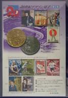 Japan 2000 The 20th Century Stamp Series 5 S/S Post Fresh - 1989-... Empereur Akihito (Ere Heisei)