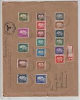 Dt. Besetzung Ukraine; Einschreib-Satzbrief - Besetzungen 1938-45