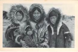 USA Etats-Unis ( AK Alaska ) Sourire Esquimaux Du Détroit De Behring / Smile Eskimos From Behring Strait - CPA - Etats-Unis