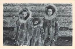 USA Etats-Unis ( AK Alaska ) Cercle Artique - Il était 3 Petits Enfants / Circle Artic - He Was 3 Little Children- CPA - Etats-Unis