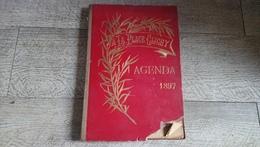 Agenda 1897 à La Place Clichy Publicités Vogel - Calendriers