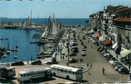 Cannes Le Quai St Pierre Anciens Bus Ed Gilletta - Cannes