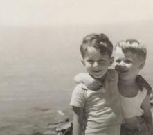 B&W Amateur Photo Boy Garcon Vacation Summer - Anonyme Personen
