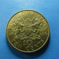 Kenya 10 Cents 1989 - Kenia
