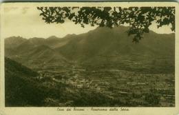 CAVA DEI TIRRENI ( SALERNO ) PANORAMA DELLA SERRA - EDIZIONE CARCAVALLO (3486) - Cava De' Tirreni