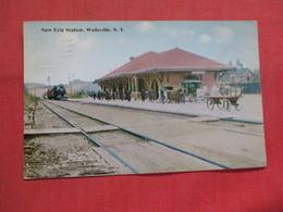 New Erie Station  Wellsville      New York    Ref 3541 - NY - New York