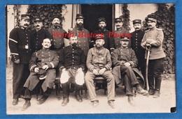 CPA Photo - LA TRINITé VICTOR Prés NICE - Portrait De Poilu 124e Régiment Infanterie Territorial - 1914 - Weltkrieg 1914-18
