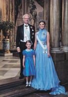 Victoria Of Sweden Estelle Daniel  Carl Philip Sofia  Nicolas  Leonore   Madeleine Oscar  King  CG ( R 102 - Familles Royales