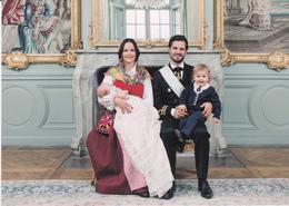 Victoria Of Sweden Estelle Daniel  Carl Philip Sofia  Nicolas  Leonore   Madeleine Oscar  King  CG ( R 107 - Familles Royales