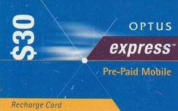 OPTUS Express 30$ June 2000 - Australie