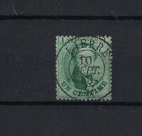 N°13B GESTEMPELD DC Lierre COB € 30,00 SUPERBE - 1863-1864 Médaillons (13/16)