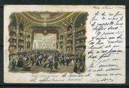 Carte Postale De 1902 De PARIS (bal De L'opéra)- Y&T N°116 - Ricevimenti