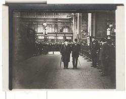 """Photo Ancienne Branger """" Départ De M. Poincaré Pour La Russie  """" 1912 - Geïdentificeerde Personen"""