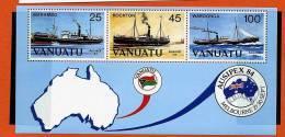 """Vanuatu ** Bloc N° 6 - """"Ausipex 84"""" - Vanuatu (1980-...)"""