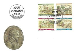 FDC - JOUR D'ÉMISSION  7-12-1998 - BIENFAISANCE  1998 - FDC