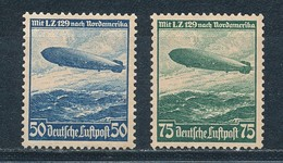 Deutsches Reich 606/07 X (*) Mi. 50,- - Germania