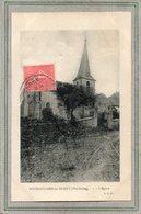 CPA - BOURGUIGNON-les-MOREY (70) - Aspect De L'Eglise En 1928 - Frankreich