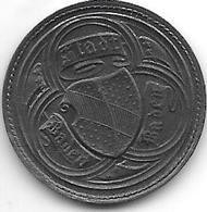 *notgeld  Baden- Baden 10 Pf 1919  Zn 572.1/ F 26.1 - [ 2] 1871-1918 : Imperio Alemán