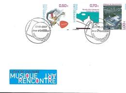 FDC - JOUR D'ÉMISSION   22-5-2007  -   LIEUX DE CULTURE - MUSIQUE ART RENCONTRE - FDC