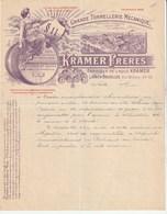 Laeken Bruxelles Rue Mellery 40-48 - Grande Tonnellerie Pour Brasseries - Tres Bon état - Belgique