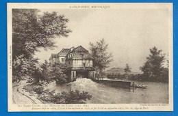 93 - SAINT-OUEN HISTORIQUE - LE MOULIN DE CAGÉ VERS 1825, BRÛLÉ LORS DU SIÈGE DE PARIS EN 1870 - Saint Ouen