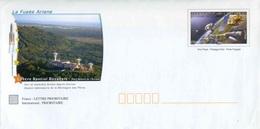 """PAP De 2010 Avec Timbre """"Conquête De L'Espace 1957-2007"""" Et Illust. """"La Fusée Ariane - Centre Spatial Guyanais"""" - Entiers Postaux"""