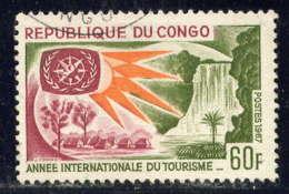 CONGO - 211°  - ANNEE INTERNATIONALE DU TOURISME - Usati