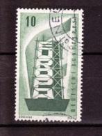 1956  CEPT, Deutsche Bundespost,  Gebraucht - Europa-CEPT