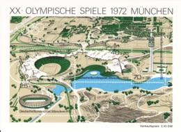 1972 München, Deutsche Bundespost, Block, Postfrisch - Sommer 1972: München