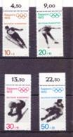 """1971  XX. Olympische Spiele In München (""""Sapporo 1972""""), Deutsche Bundespost (4 Werte), Postfrisch - Sommer 1972: München"""