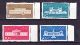 1970  Olympische Sommerspiele München (4 Werte), Deutsche Bundespost, Postfrisch - Sommer 1972: München