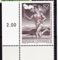 1972  Österreichischer Fackellauf - Olympische Spiele 1972, Postfrisch - Sommer 1972: München