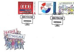 FDC - JOUR D'ÉMISSION   17-3-2009  -  SÉRIE SYNDICALE - FDC
