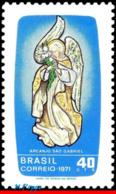 Ref. BR-1199 BRAZIL 1971 ANGELS, ST. GABRIEL'S DAY,, ARCHANGEL GABRIEL, MI# 1293, MNH 1V Sc# 1199 - Cristianesimo
