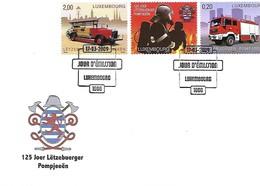 FDC - JOUR D'ÉMISSION   17-3-2009  -   125 JOER LËTZEBUERGER POMJEEËN - FDC