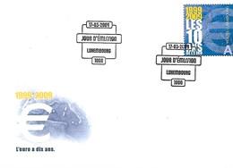FDC - JOUR D'ÉMISSION   17-3-2009  -   L'EURO A DIX ANS - FDC