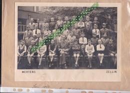 Klasfoto, Photo De Classe, Mertens, Zellik; 1952, 10B, 3de Leerjaar, 24CM/18CM - Anonymous Persons
