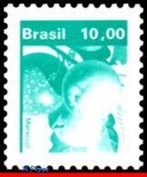 Ref. BR-1663 BRAZIL 1982 FRUITS, ECONOMIC RESOURCES,, MARACUJA, MNH 1V Sc# 1663 - Fruits