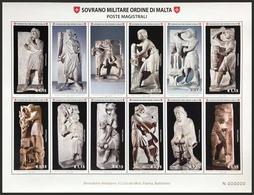 SMOM - ORDINE DI MALTA 2018 LA SCULTURA NELL'ARTE BF 80% DEL FACCIALE! - Malte (Ordre De)