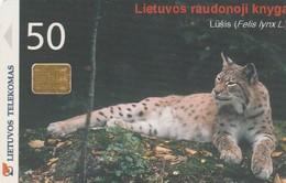 LITUANIA. CHIP. LINCE - LYNX. LT-LTV-C054. (006). - Tarjetas Telefónicas