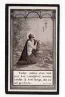 EERW. JOANNES VERHAEGEN ° LIER 1875 + WEERDE 1931/ PUERS/ KOEKELBERG/ AALMOEZENIER GROOT GEVANG LEUVEN - Devotion Images