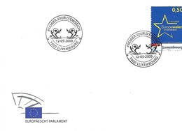 FDC - JOUR D'ÉMISSION   12-5-2009   -  EUROPÄESCHT PARLAMENT - FDC