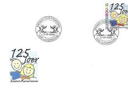 FDC - JOUR D'ÉMISSION   12-5-2009   -   125 JOER STAATLECH KANNERHEEMER - FDC