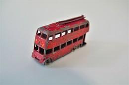 "Matchbox Lesney 56A4 LONDON TROLLEY BUS - ""Drink Peardrax"" - Regular Wheels, Issued 1957 - Matchbox"